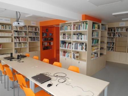 Knižnica po rekonštrukcii