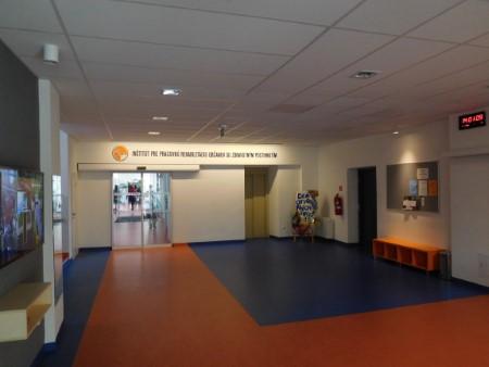 Vstupná hala IPR po rekonštrukcii v roku 2018